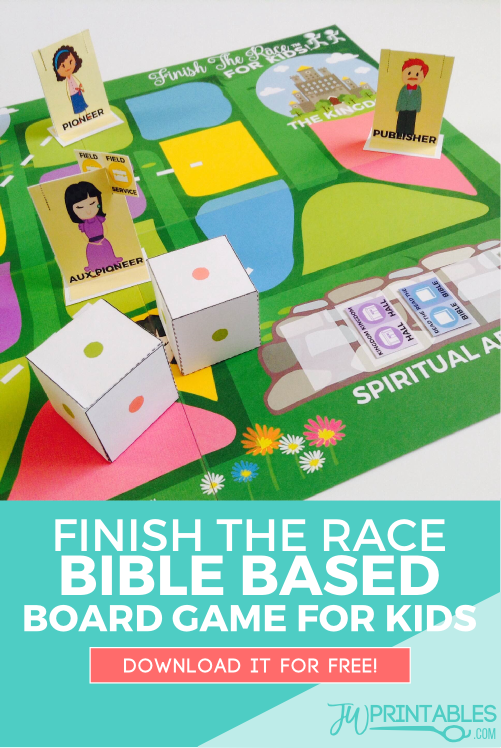 finish the race board game_pin