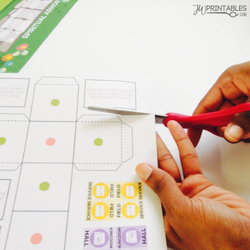 Finish The Race - FREE Printable Board Game for JW Kids - JW