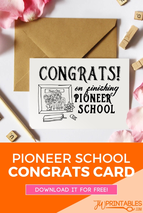 Pioneer school congrats card_pin