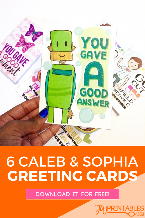 caleb and sophia cards pin