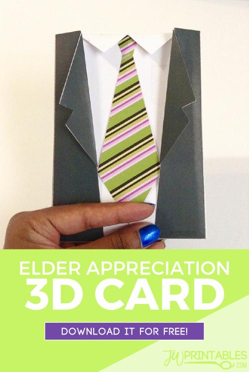 free elder card jw pin