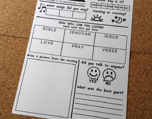 Caleb & Sophia Notebooks | JW Printables