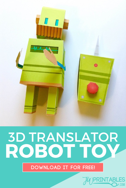 translator robot pin