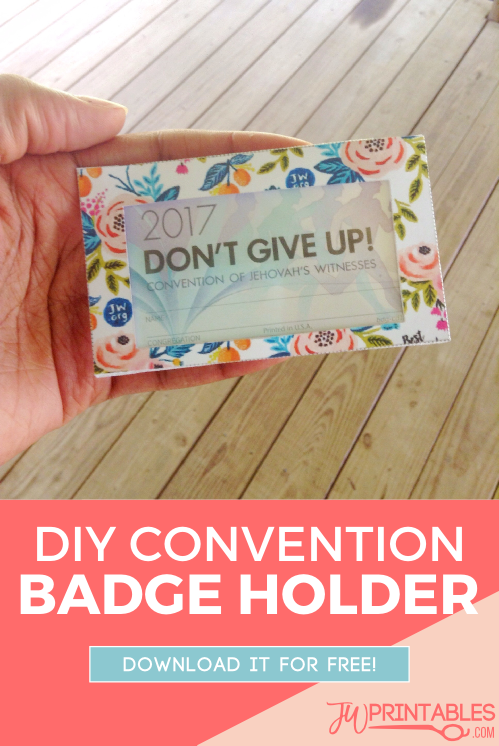 Today's printable is for those who like add a little extra flair to their convention attire!