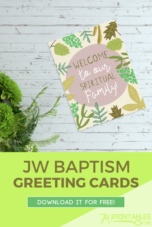 Welcome free jw baptism greeting card jw printables welcome free jw baptism greeting card m4hsunfo