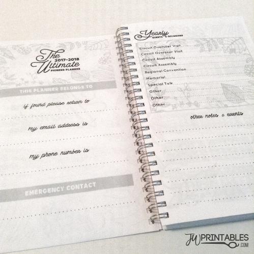 The Ultimate Pioneer Planner™ (& Ministry Planner) Free! - JW Printables