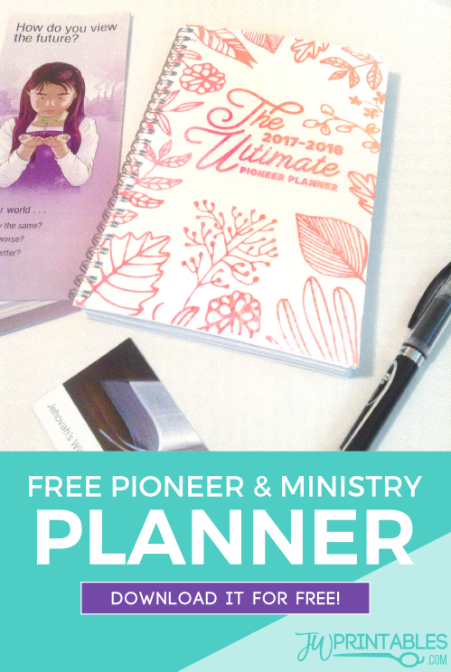 The Ultimate Pioneer Planner™ (& Ministry Planner) Free