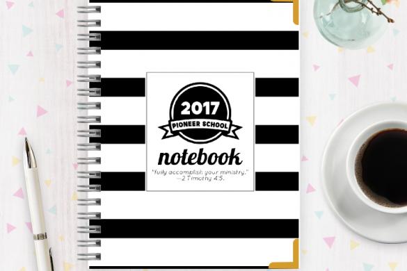 Free Pioneer School Notebook