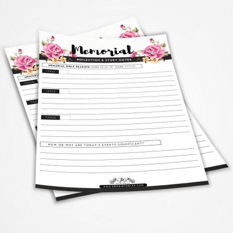 JW Printables - Page 2 of 9 - Free Printables For Jehovah's
