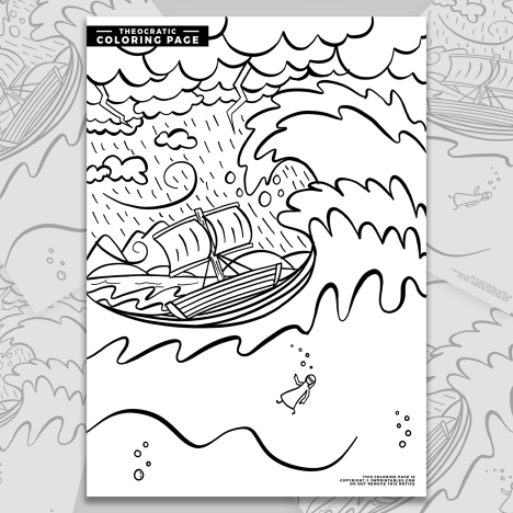 Jonah Coloring Page